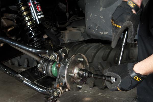 Yamaha Rhino Rear Axle Nut Torque