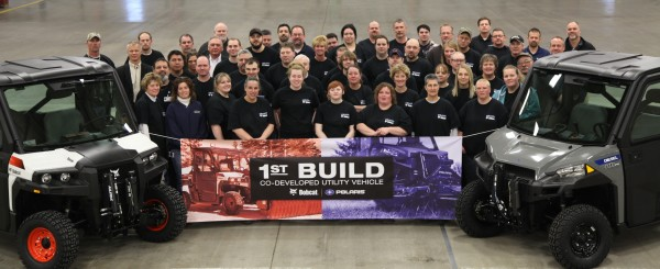 Brutus Arrives – First Polaris and Bobcat Co-Developed UTV Rolls Off Line