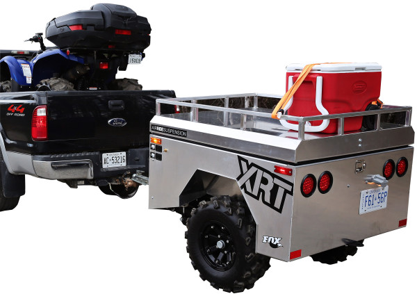 The world's First ATV/UTV Air-ride Trailer has arrived.