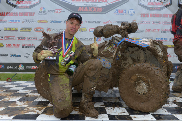 Swift Notches First Win of the Season at GNCC Limestone 100
