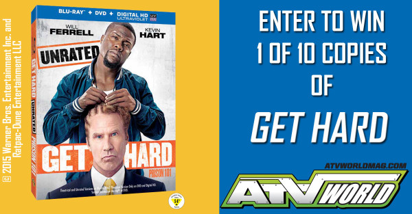 We got our hands on 10 copies of Get Hard!