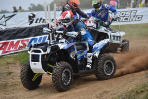 Higbee raced 2-hours for the win in the +40 4x4 class.
