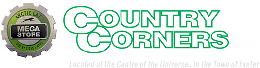 COUNTRY CORNERS  Expands Booth Space with  MORE ATVs, SIDE-BY-SIDEs, PARTS & ACCESSORIES