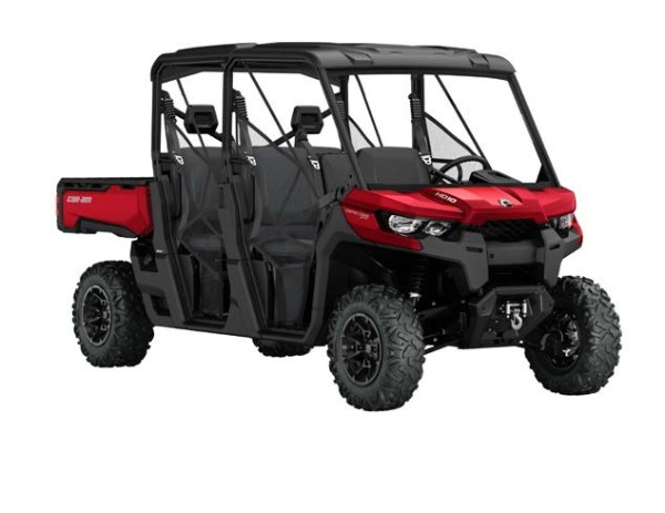 Can-Am Announces Six Passenger Defender MAX; Creating a Work/Utility Vehicle for Six