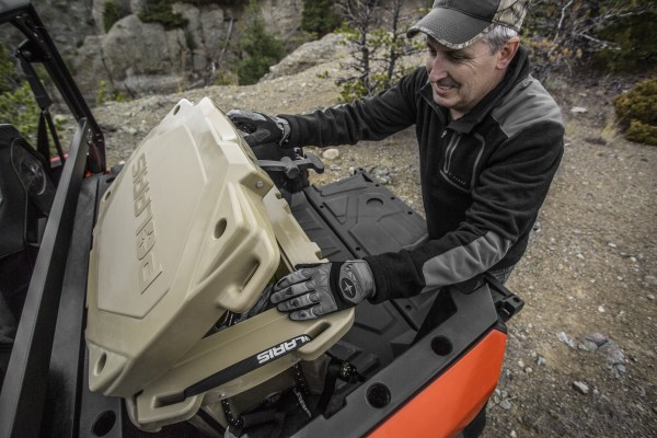 Polaris Offers Heavy-Duty, Nearly Indestructable Northstar Cooler for Your Side-By-Side
