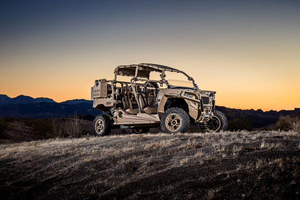 Polaris Adds Turbo Diesel Power to Their Military Focused Off-Road Vehicles with the MRZR-D
