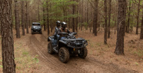 Outlander MAX LIMITED 1000R - Commander LIMITED - Trail Riding 2