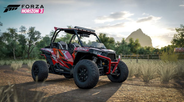 Polaris RZR First SXS Featured In Video Game