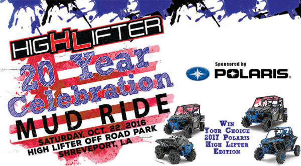 High Lifter is Throwing a Party and to Celebrate is Giving Away a 2017 Polaris High Lifter Edition!