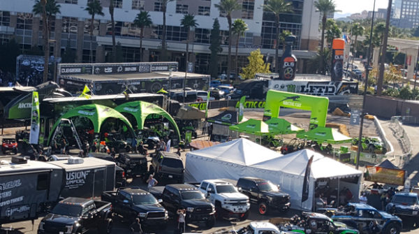 Arctic Cat Goes Big…Really Big With Massive Experience Display at SEMA