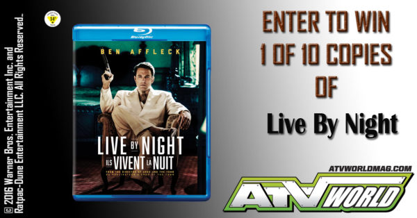 Enter to Win A Copy of Live By Night
