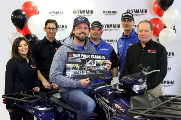 KEVIN SCORES 2017 KODIAK EPS IN THE 'WIN YOUR YAMAHA' CONTEST