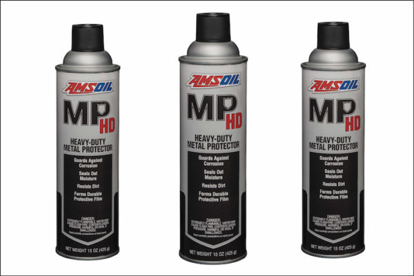 TIRED OF LOOKING AT YOUR RIDE'S CORRODED COMPONENTS? PROTECT THEM WITH AMSOIL