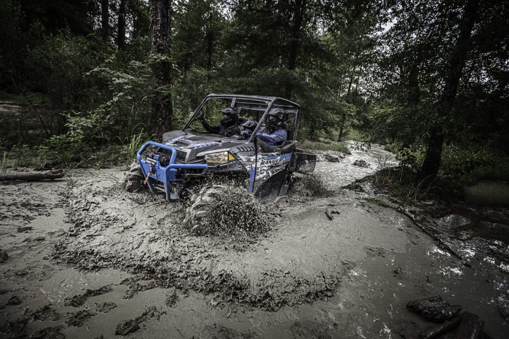The new Ranger XP 1000 will also be available in a mud ready High Lifter edition in both standard and crew versions.