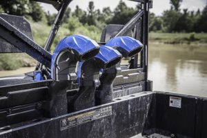 Ready for the deep stuff, rear mounted snorkels on the new High Lifter Ranger.