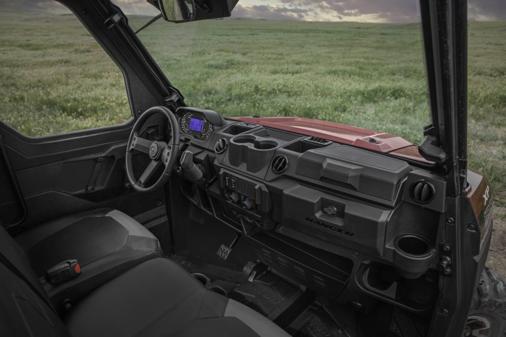 A redesigned interior features more storage, new controls, new gauges, and more comfortable seats.