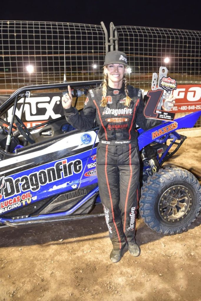More dominance in the Lucas Oil Regional Off-Road Racing Series (LORORS) comes from Corry Weller, who has landed on the podium five of the past six races (with three wins) in the Arizona tour, putting her atop the championship chase.