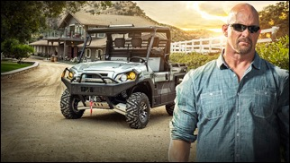 Cause Stone Cold Said So – Austin is Kawasaki Mule Brand Ambassador