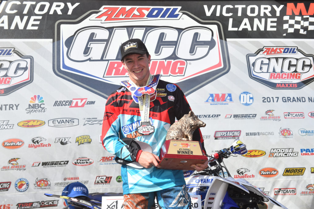 Domination is the game for reigning champion Walker Fowler, who for the third year in a row is leading the year-end championship chase in the Grand National Cross Country (GNCC) XC1 Pro ATV class. This season alone, Fowler has six first place finishes and has never finished lower than second place.