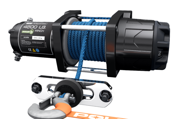 GET OUT AND BACK TO RIDING FAST WITH THE ALL-NEW, FIRST-OF-ITS-KIND RAPID ROPE RECOVERY POLARIS PRO HD WINCH