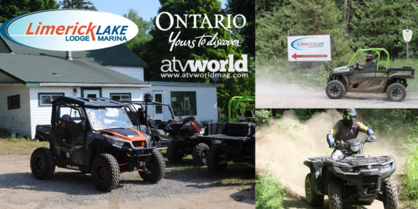 VIDEO: ATV World Rides and Chills at Limerick Lake Lodge