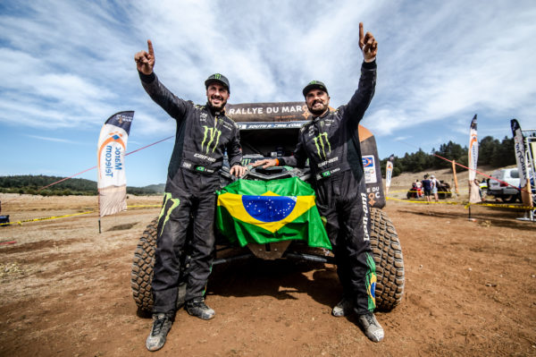 MONSTER ENERGY CAN-AM'S VARELA SECURES FIA T3 WORLD TITLE WITH VICTORY IN MOROCCO!