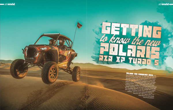 GETTING TO KNOW THE NEW POLARIS RZR XP TURBO S