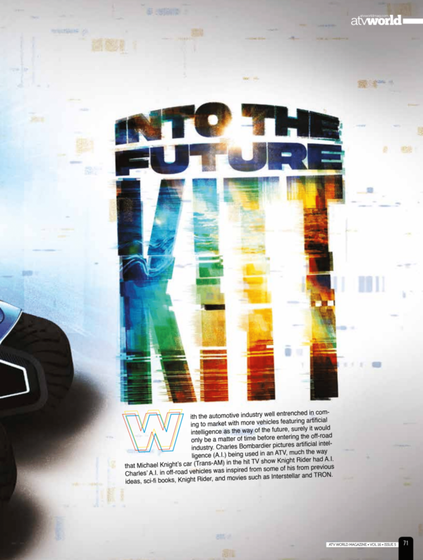 INTO THE FUTURE: KITT