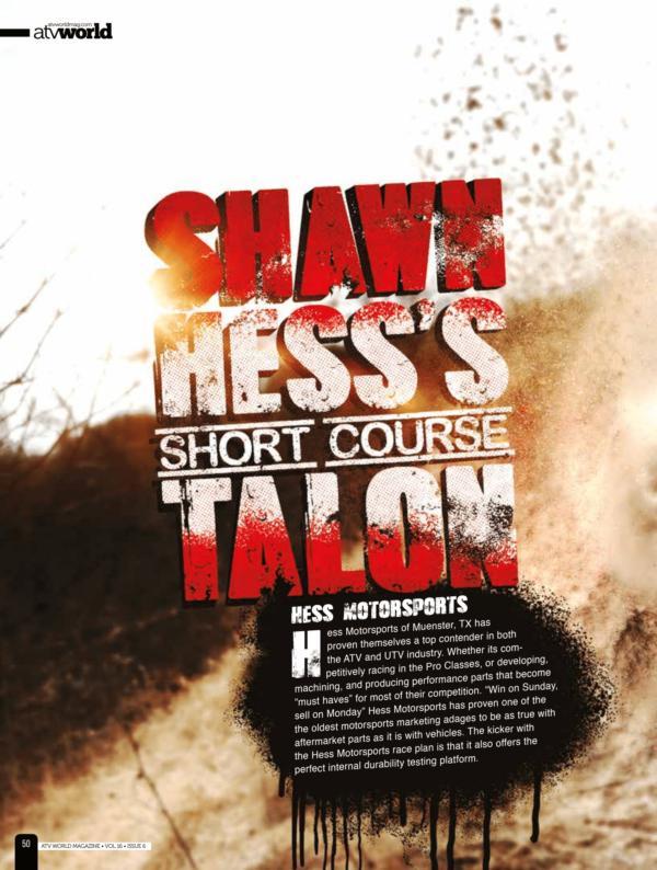 Shawn Hess's Short Course Talon