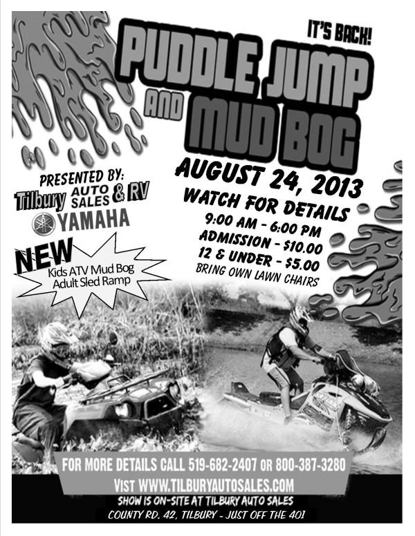 Puddle Jump & Mud Bog