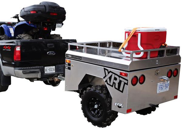 The world's First ATV/UTV Air-ride Trailer has arrived.