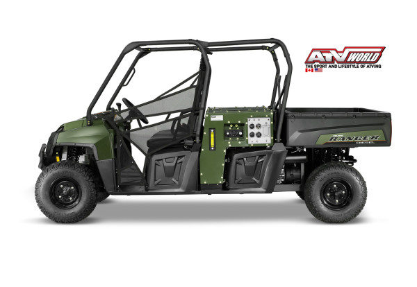 NEW POLARIS RANGER CREW TOUTS HYDRAULIC, PNEUMATIC, AND ELECTRIC POWER