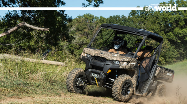 FIRST RIDE: CAN-AM's Defender HD8 and HD10