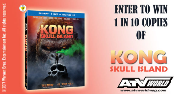 Enter to Win A Copy of KONG: Skull Island