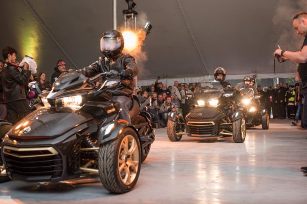 Can-Am Spyder Celebrates 10-Years with Homecoming Celebration