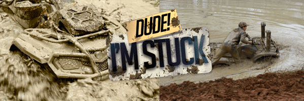 """The 2017 """"Dude I'm Stuck"""" contest, presented by  KFI Products and ATV WORLD Magazine!"""