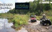 Exploring the Haliburton Highlands on the HATVA