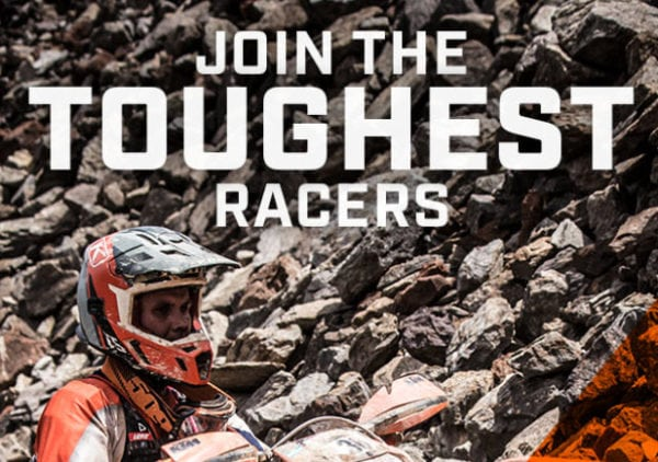 THINK YOU'RE TOUGH? KLIM IS LOOKING FOR YOU TO JOIN THEIR OFF-ROAD RACING TEAM