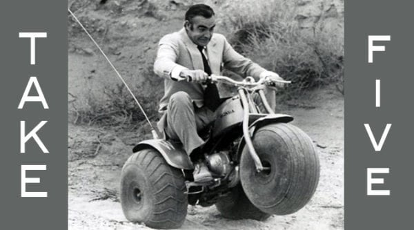 TAKE 5: ATV MOVIE SCENES