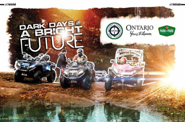 "ATV World Utilizes the ""One Pass"" and Rides Park-To-Park"