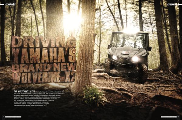 DRIVING YAMAHA'S BRAND NEW WOLVERINE X2
