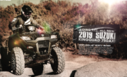 RIDING THE ALL NEW 2019 SUZUKI KINGQUAD 750 AXI