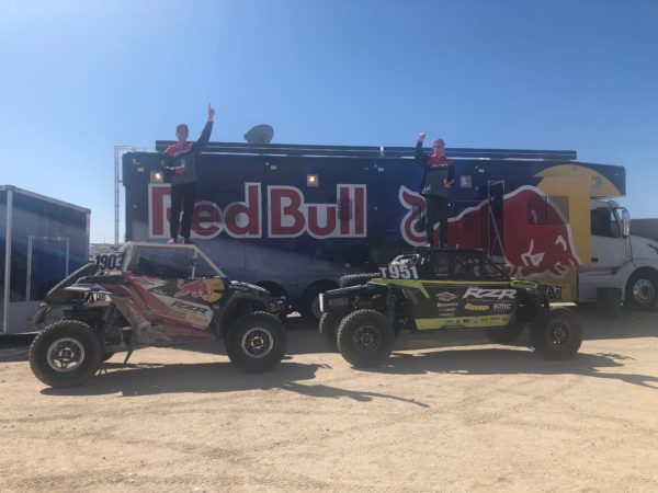 POLARIS RZR FACTORY RACING WINS AT THE BEST IN THE DESERT AND OVERALL SERIES CHAMPIONSHIPS!