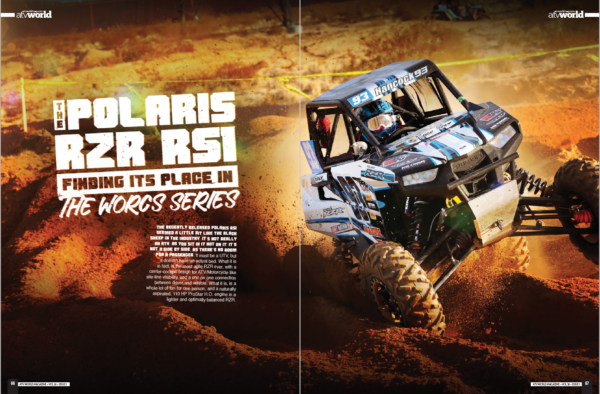 THE POLARIS RZR RS1 FINDING ITS PLACE IN THE WORCS SERIES