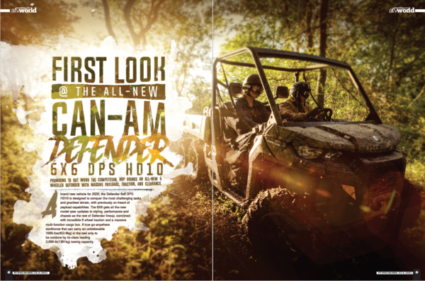FIRST LOOK @ THE ALL-NEW CAN-AM DEFENDER 6X6 DPS HD10