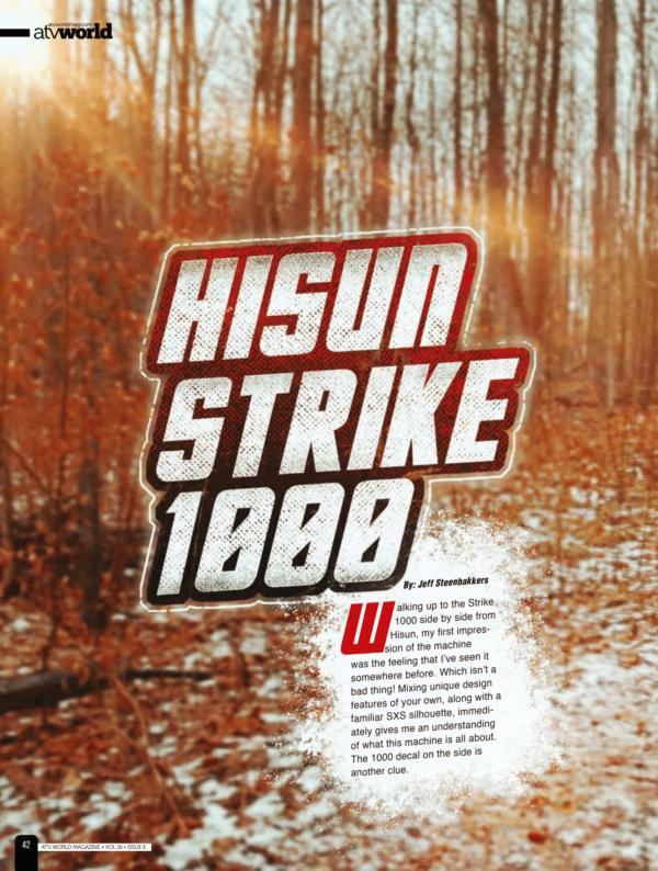 ATV WORLD REVIEW – HISUN STRIKE 1000