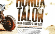 THE 2020 HONDA TALON 1000X-4 & 1000X-4 LIVE VALVE